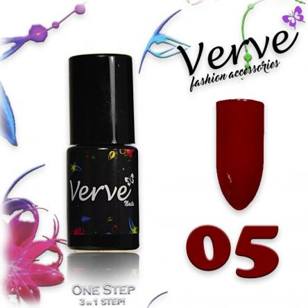 Verve nails smalto 6 ml one step 3 in 1 n. 05