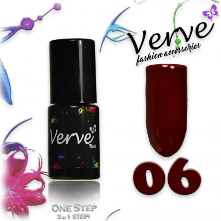Verve nails smalto 6 ml one step 3 in 1 n. 06