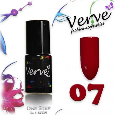 Verve nails smalto 6 ml one step 3 in 1 n. 07