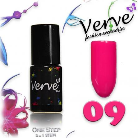 Verve nails smalto 6 ml one step 3 in 1 n. 09