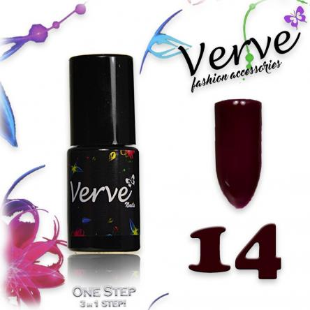 Verve nails smalto 6 ml one step 3 in 1 n. 14