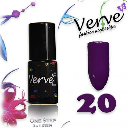 Verve nails smalto 6 ml one step 3 in 1 n. 20