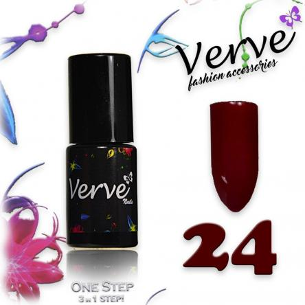 Verve nails smalto 6 ml one step 3 in 1 n. 24