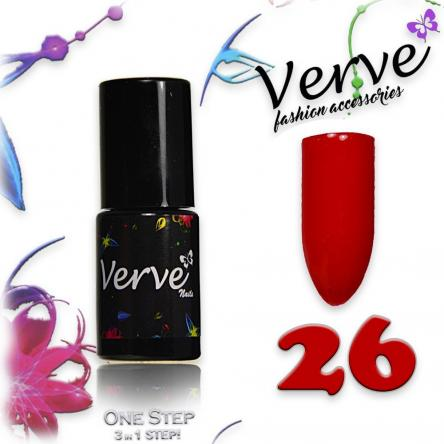 Verve nails smalto 6 ml one step 3 in 1 n. 26