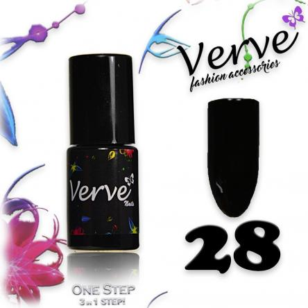 Verve nails smalto 6 ml one step 3 in 1 n. 28
