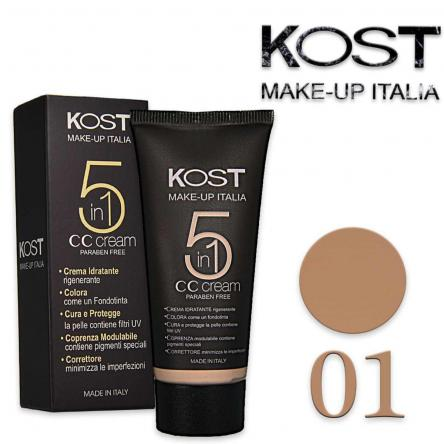 Cc cream 5 in 1 kost 01