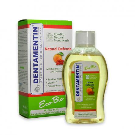 Dentamin colluttorio 300 ml eco-bio agrumi e goji