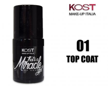 Smalto top coat miracle gel 01 kost hybrid