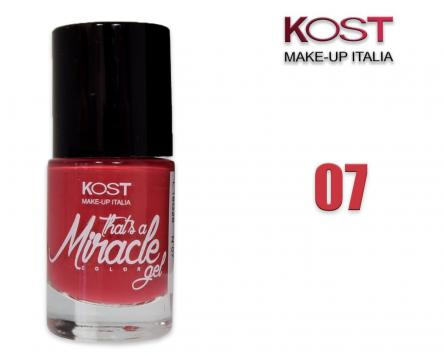 Smalto that's miracle gel 07 kost fucsia scuro