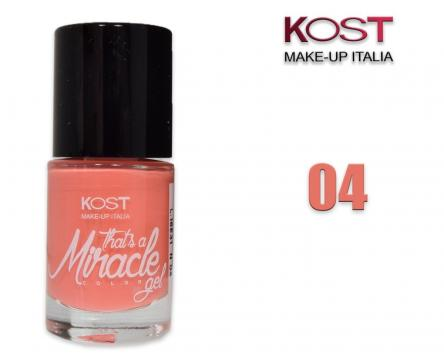 Smalto that's miracle gel 04 kost rosa pesca