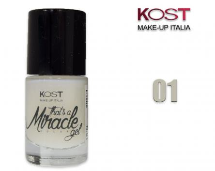 Smalto that's miracle gel 01 kost bianco