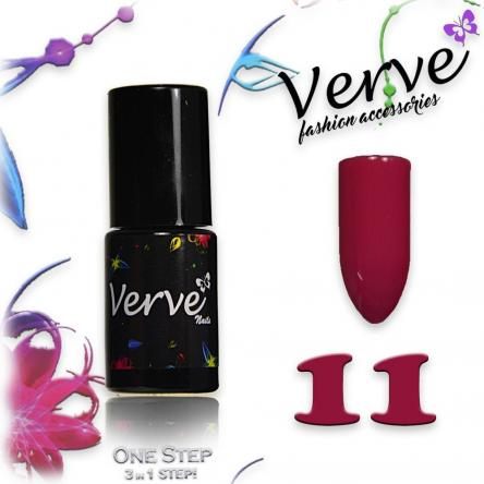 Verve nails smalto 6 ml one step 3 in 1 n. 11