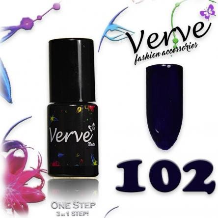 Verve nails smalto 6 ml one step 3 in 1 n. 102