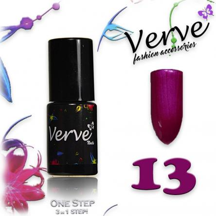 Verve nails smalto 6 ml one step 3 in 1 n. 13