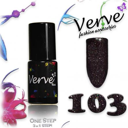 Verve nails smalto 6 ml one step 3 in 1 n. 103