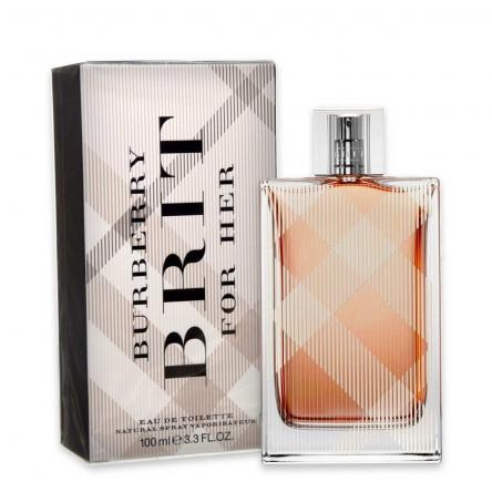 Burberry brit for women edt 100ml vapo