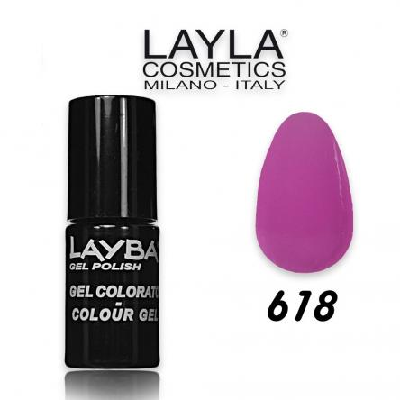 Layba 5 ml semipermanente n° 618