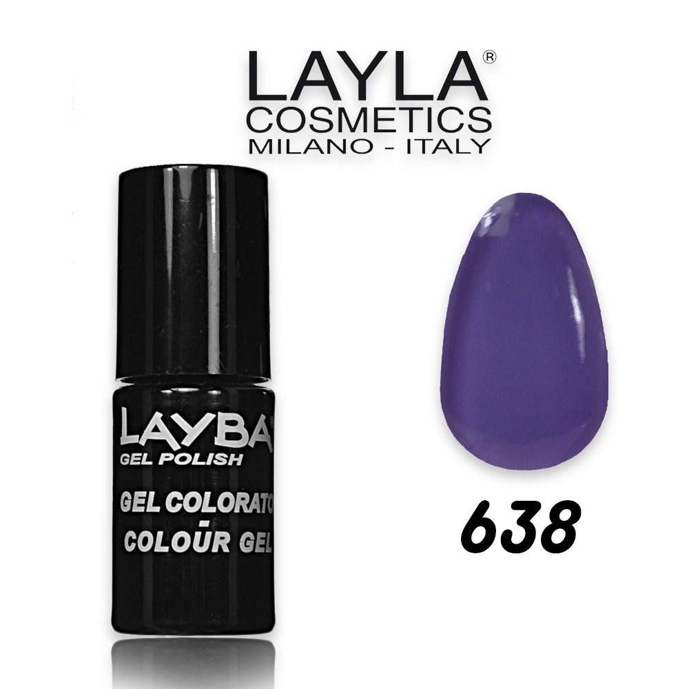 Layba 5 ml semipermanente n° 638