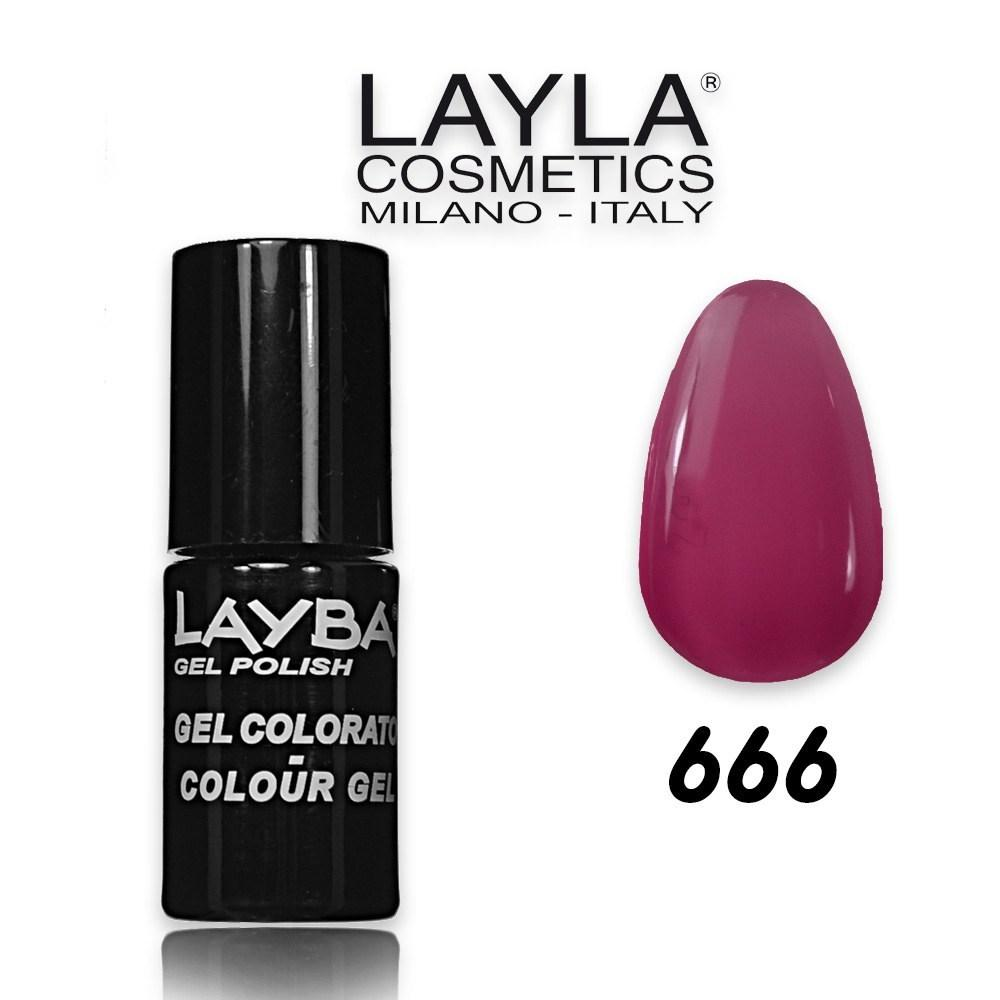 Layba 5 ml semipermanente n° 666