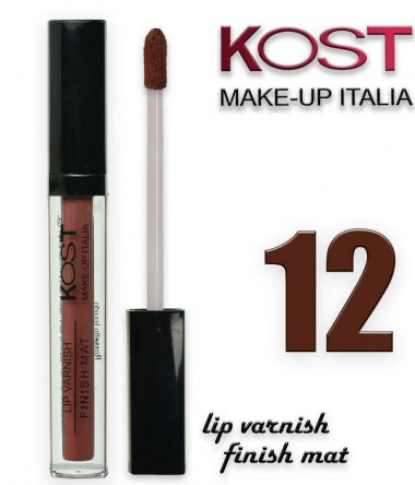 Lip varnish kost 12