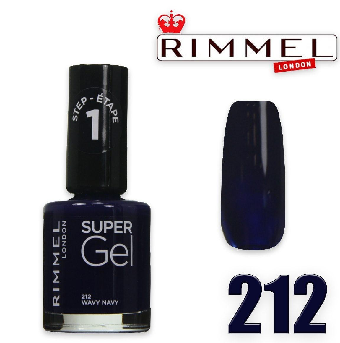 Rimmel smalto super gel 212