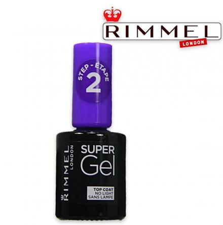Rimmel smalto super gel 001 top coat