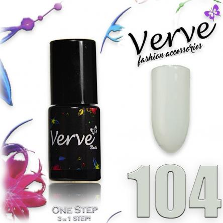 Verve nails smalto 6 ml one step 3 in 1 n. 104