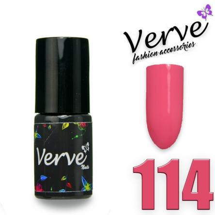 Verve nails smalto 6 ml one step 3 in 1 n. 114