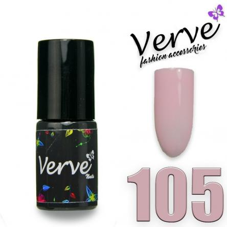 Verve nails smalto 6 ml one step 3 in 1 n. 105