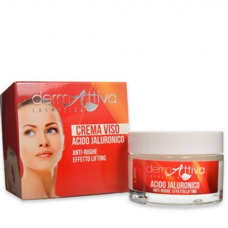 Dermattiva crema viso acido jaluronico anti rughe 50 ml
