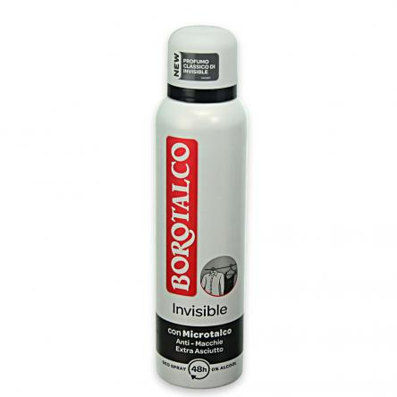 Borotalco deo spray 150ml invisible