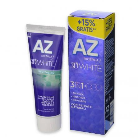 Az dent. 3d  75 ml revitalize (15% gratis)