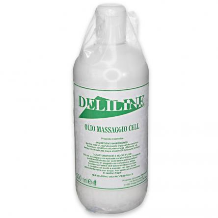 Deliline olio massaggio anti-cellulite 500ml