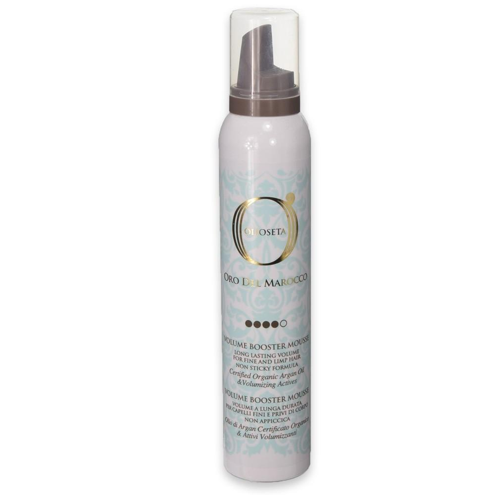 Olio seta oro del marocco volume booster mousse 200 ml