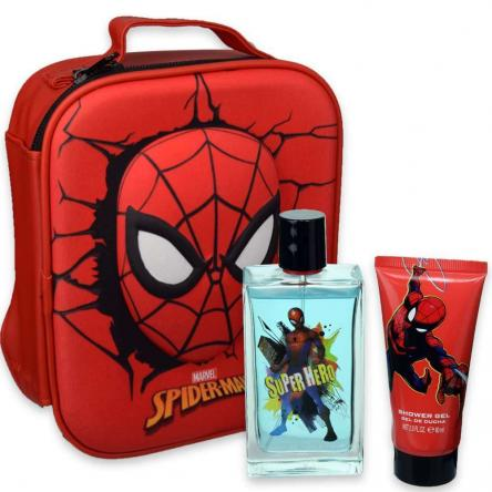 Spiderman edt 100 ml + shower gel 60 ml + zainetto