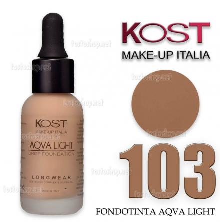 Fondotinta in drop aqvalight kost 103