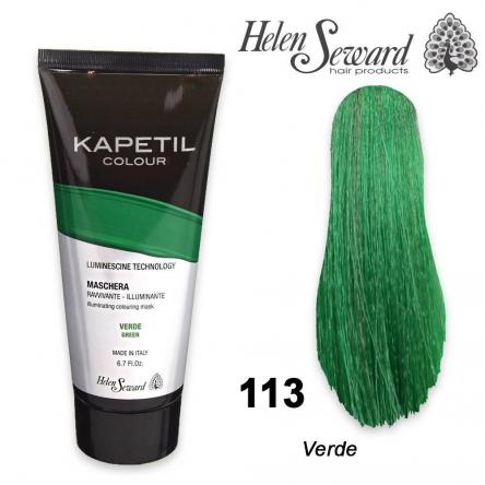Kapetil mask helen seward verde/green 200 ml
