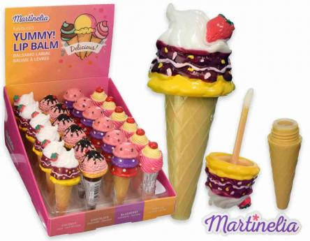 Martinelia lip balm yummy ice cream