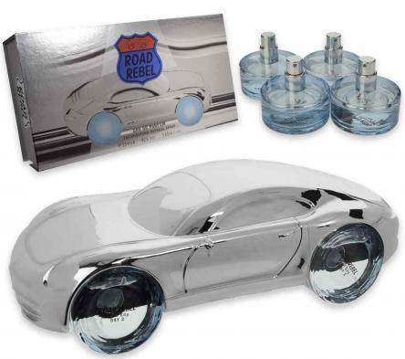 Coffret road rebel silver edp 25 ml x 4