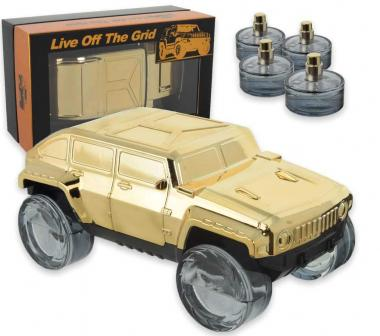 Coffret live off the grid gtold edp 25 ml x 4