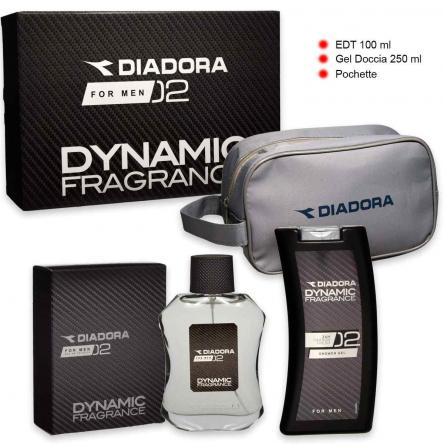 Diadora dynamic n° 02 edt 100 ml + shower gel 250 ml + beauty