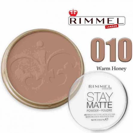 Rimmel cipria stay matte 010 warm honey