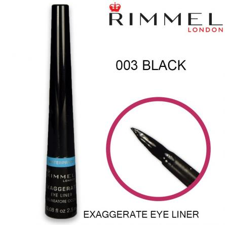 Rimmel eyeliner exaggerate waterproof 003