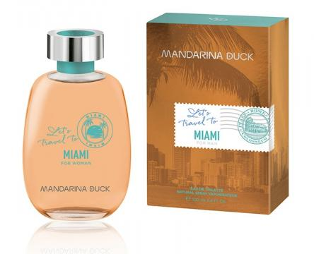 Mandarina duck miami for her edt 100 ml