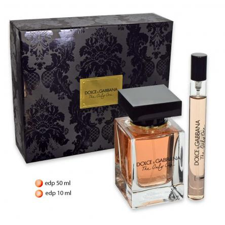 D&g the only one edp 50 ml + edp travel 10 ml