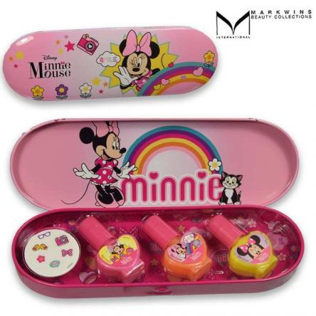 Minnie mouse nail tin