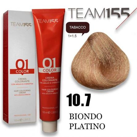 Team 155 tintura 100 ml n° 10.7