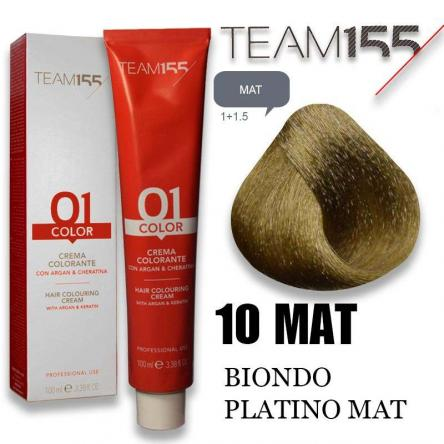 Team 155 tintura 100 ml n° 10 matt