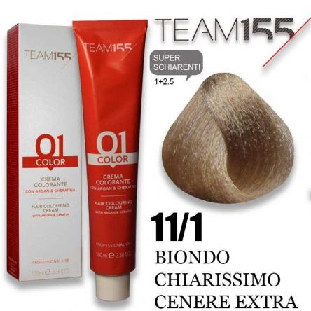 Team 155 tintura 100 ml n° 11.1