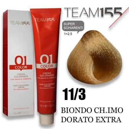 Team 155 tintura 100 ml n° 11.3